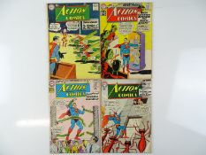 ACTION COMICS: SUPERMAN #273, 292, 295, 296 - (4 in Lot) - (1961/63 - DC - US Price & UK Cover