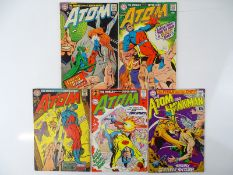 ATOM #33, 34, 35, 36, 39 - (5 in Lot) - (1967/68- DC - US Price & UK Cover Price) - Flat/Unfolded