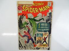 AMAZING SPIDER-MAN #2 - (1963 - MARVEL - UK Price Variant) - Third appearance of Spider-Man +