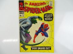 AMAZING SPIDER-MAN #45 - (1967 - MARVEL - UK Price Variant) - Third appearance of the Lizard -