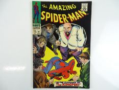 AMAZING SPIDER-MAN #51 - (1967 - MARVEL - UK Price Variant) - Second appearance of the Kingpin -
