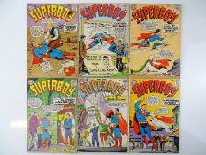 SUPERBOY #106, 107, 109, 113, 114, 118 - (6 in Lot) - (1963/65 - DC - US Price & UK Cover Price) -