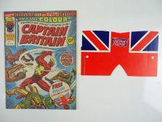 CAPTAIN BRITAIN #1 - (1976 - BRITISH MARVEL) - Origin and First appearance of Captain Britain