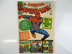 AMAZING SPIDER-MAN #38 - (1966 - MARVEL - UK Price Variant) - Second appearance of Mary Jane