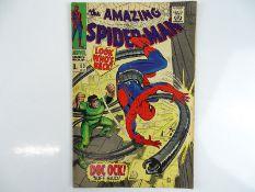 AMAZING SPIDER-MAN #53 - (1967 - MARVEL - UK Price Variant) - Spider-Man battles Doctor Octopus +