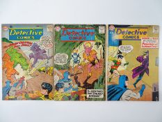 DETECTIVE COMICS: BATMAN #277, 279, 283 - (3 in Lot) - (1960 - DC - US Price & UK Cover Price) -
