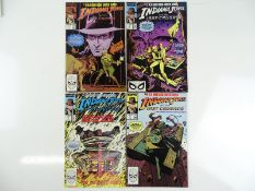 INDIANA JONES AND THE LAST CRUSADE #1, 2, 3, 4 - (4 in Lot) - (1989 - MARVEL) - Complete 4 x issue