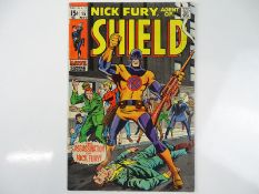 NICK FURY, AGENT OF SHIELD #15 - (1969 - MARVEL - UK Cover Price) - First appearance and 'death'
