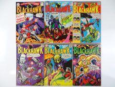 BLACKHAWK #214, 216, 219, 220, 221, 222 - (6 in Lot) - (1965/66 - DC - US Price & UK Cover