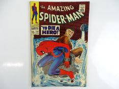 AMAZING SPIDER-MAN #52 - (1967 - MARVEL - UK Price Variant) - First appearance of Joe Robertson +