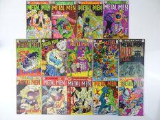 METAL MEN #22, 24, 25, 26, 28, 31, 32, 36, 37, 40, 41, 44, 47, 48 - (14 in Lot) - (1967/76 - DC - UK