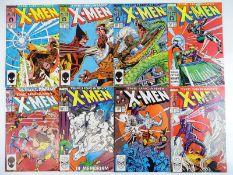 UNCANNY X-MEN #221, 222, 223, 224, 225, 228, 229, 230 - (8 in Lot) - (1987/88 - MARVEL) - Flat/