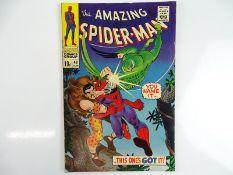 AMAZING SPIDER-MAN #49 - (1967 - MARVEL - UK Price Variant) - Kraven the Hunter and Vulture II