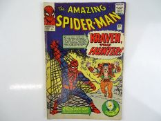 AMAZING SPIDER-MAN #15 - (1964 - MARVEL - UK Price Variant) - First appearance of Kraven the