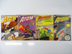 ATOM #5, 6, 9, 12 - (4 in Lot) - (1963/64 - DC - US Price & UK Cover Price) - Flat/Unfolded