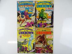 CHALLENGERS OF THE UNKNOWN #13, 26, 30, 32 - (4 in Lot) - (1960/63 - DC - UK Cover Price) - Flat/