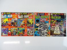 BATMAN #187, 193, 198, 202 - (4 in Lot) - (1967/68 - DC - US PRICE & UK Cover Price) - Flat/