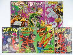 DOOM PATROL, HAWKMAN, STRANGE ADVENTURES, PLASTIC MAN - (7 in Lot) - (DC - US Price & UK Cover