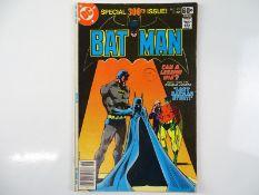 BATMAN #300 - (1978 - DC - UK Cover Price) - Dick Giordano, Walt Simonson cover and interior art -