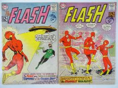 FLASH #131 & 132 - (2 in Lot) - (1962 - DC - UK Cover Price) - Early Green Lantern crossover (