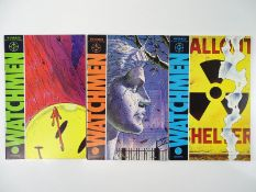 WATCHMEN #1, 2, 3 - (3 in Lot) - (1986 - DC) - ALL First Printings - Issues 1, 2 & 3 of the ground