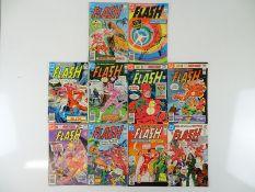 FLASH #285, 286, 287, 288, 289, 290, 291, 292, 293, 294 - (10 in Lot) - (1980/81 - DC - US Price &