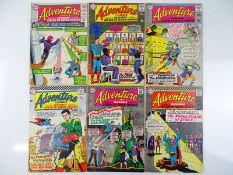ADVENTURE COMICS #335, 336, 340, 341, 343, 344 - (6 in Lot) - (1965/66 - DC - UK Cover Price) -