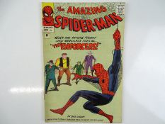 AMAZING SPIDER-MAN #10 - (1964 - MARVEL - UK Price Variant) - First appearance of Big Man and the