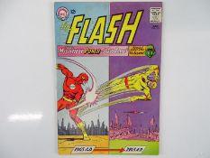FLASH #153 - (1965 - DC) - Professor Zoom (Reverse Flash), Mr. Element appearances - Carmine