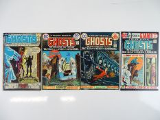 GHOSTS #4, 24, 30, 40 - (4 in Lot) - (1972/75 - DC - US Price & UK Cover Price) - Flat/Unfolded