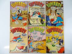 SUPERBOY #106, 107, 108, 109, 111, 112 - (6 in Lot) - (1963/64 - DC - US Price & UK Cover Price) -
