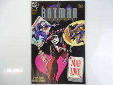 BATMAN ADVENTURES: MAD LOVE - (1994 - DC) - Origin of Harley Quinn - Bruce Timm cover and interior
