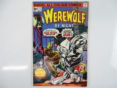 WEREWOLF BY NIGHT #32 - (1975 - MARVEL - UK Price Variant) - HOT BOOK - Origin and first