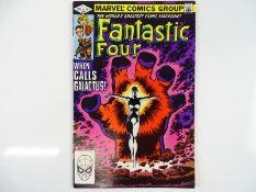 FANTASTIC FOUR #244 - (1982 - MARVEL) - Frankie Raye becomes the 'new' Nova, Herald of Galactus +