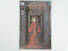 STAR WARS: EPISODE I - THE PHANTOM MENACE - SIGNED DYNAMIC FORCES LIMITED EDITIONS - (1999 - DARK