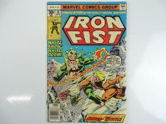 IRON FIST #14 - (1977 - MARVEL) - First appearance of Sabretooth - Al Milgrom cover with John