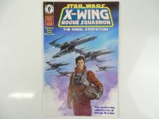 STAR WARS: X-WING ROGUE SQUADRON - THE REBEL OPPOSITION # 1 - (1995 - DARK HORSE) - First Printing -