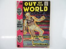 OUT OF THIS WORLD #7 - (1958 - CHARLTON) - Steve Ditko cover with Ditko, Charles Nicholas interior