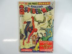 AMAZING SPIDER-MAN: KING SIZE ANNUAL #1 - (1964 - MARVEL - UK Cover Price) - First appearance of the