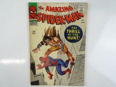 AMAZING SPIDER-MAN #34 - (1966 - MARVEL) - Fourth appearance of Kraven the Hunter - Steve Ditko
