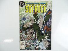 SGT. ROCK #422 - (1988 - DC) - Last issue of this long running War title - Joe, Andy, Adam Kubert