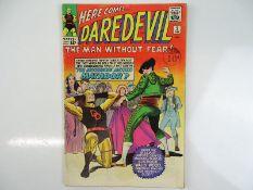DAREDEVIL #5 - (1964 - MARVEL - UK Cover Price) - Daredevil battles the Matador + Costume change for