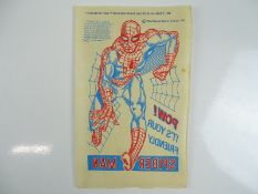 SPIDER-MAN TRANSFER (1967) - Iron-On Transfer of Spider-Man issued as a free gift in the 1967