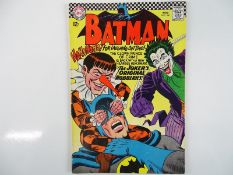 BATMAN #186 - (1966 - DC) - Joker cover and story - Carmine Infantino and Murphy Anderson cover with