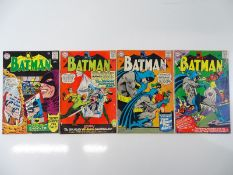BATMAN #173, 174, 177, 178 - (4 in Lot) - (1965/66 - DC - US Price & UK Cover Price) - Flat/