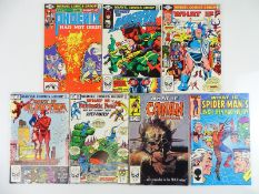 WHAT IF ? #27, 28, 34, 35, 36, 43, 46 - (7 in Lot) - (1981/84 - MARVEL) - Flat/Unfolded