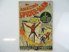 AMAZING SPIDER-MAN #1 - (1963 - MARVEL - UK Price Variant) - First appearance of Spider-Man un his
