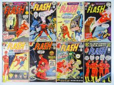 FLASH #208, 209, 210, 212, 213, 215, 216, 217 - (8 in Lot) - (1971/72 - DC - US PRICE & UK Cover