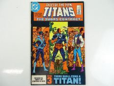 TALES OF THE TEEN TITANS #44 - (1984 - DC) - Key Bronze Age Issue - Dick Grayson becomes Nightwing +