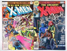 UNCANNY X-MEN #110 & 114 - (2 in Lot) - (1978 - MARVEL - UK Price Variant) - Includes Phoenix
